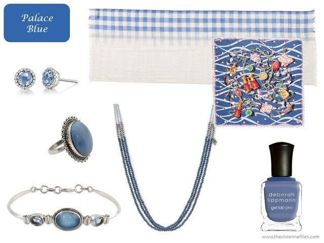 Palace Blue accessories from Pantone Spring 2018 colors