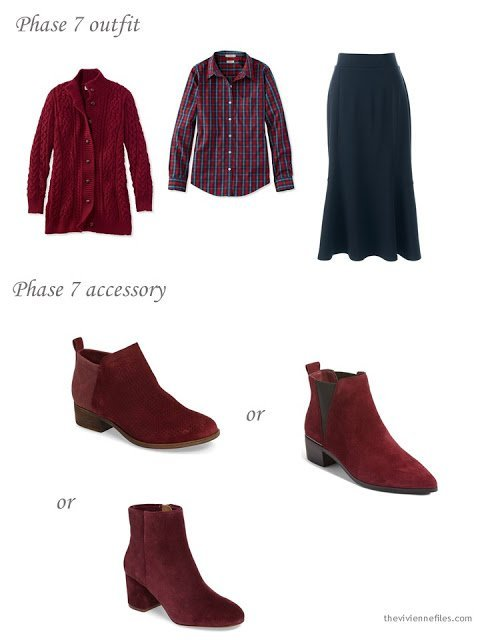 adding short boots to a capsule wardrobe