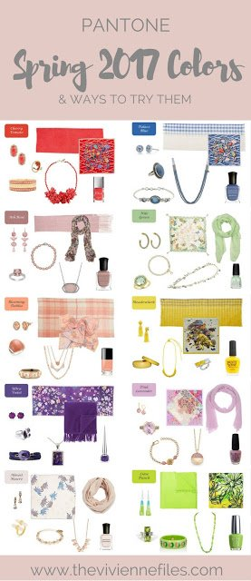 """Pantone """"New"""" Colors for Spring 2018 - Accessories in a Dozen Colors..."""