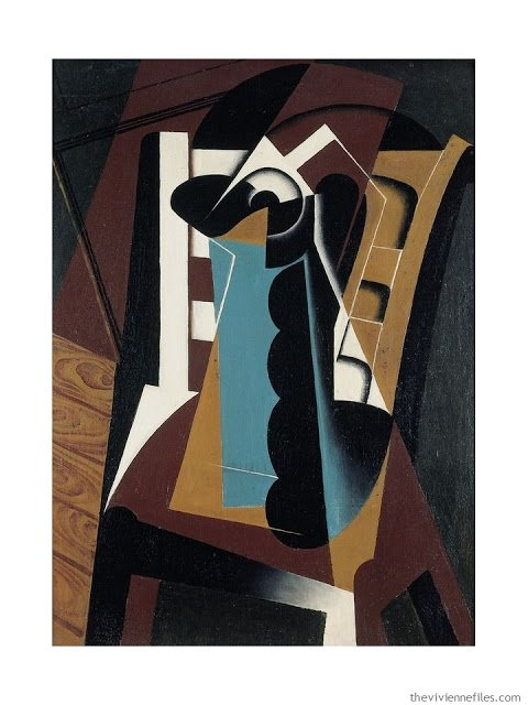 Nature Morte sur une Chaise by Juan Gris