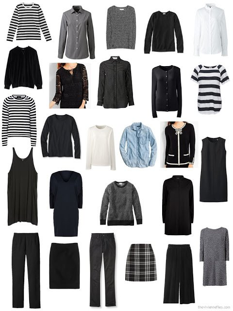my 26-piece wardrobe for October 2017