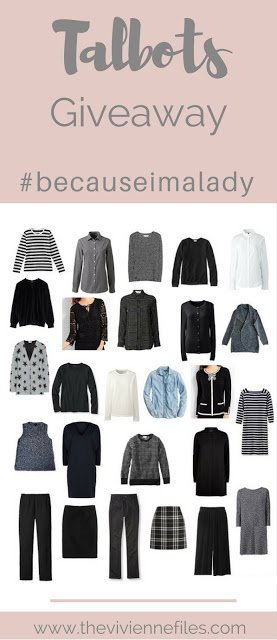 A Giveaway for You! #becauseimalady Promotion at Talbots…