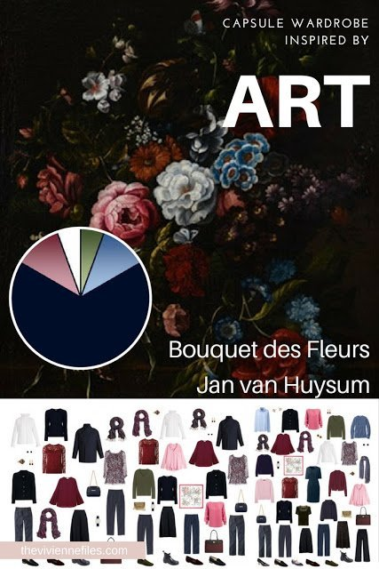 EXPANDED Start with Art: Bouquet des Fleurs in the style of Jan van Huysum