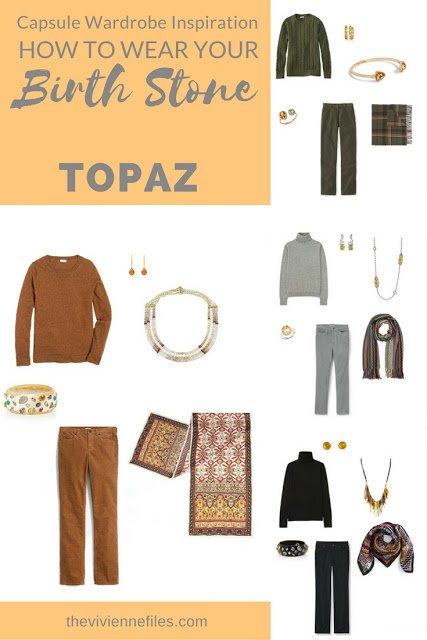 November's Birthstone is Topaz, or Citrine... Some Ideas!