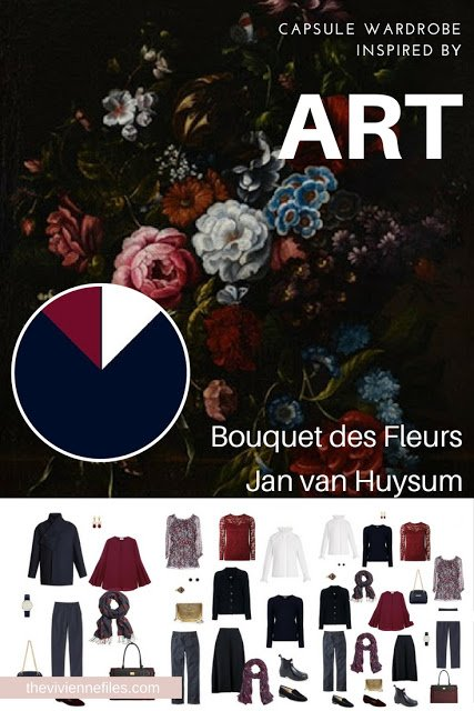 Start with Art: Bouquet desFleurs in the style of Jan van Huysum