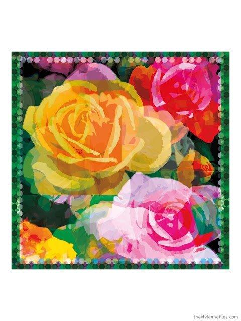The Joy Rose scarf by KathKath