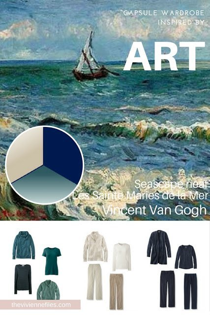 Revisiting A Casual Summer Wardrobe – Seascape by Van Gogh