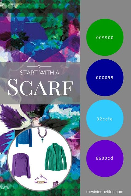 Start with a GORGEOUS Scarf – The Hope Scarf by KathKath