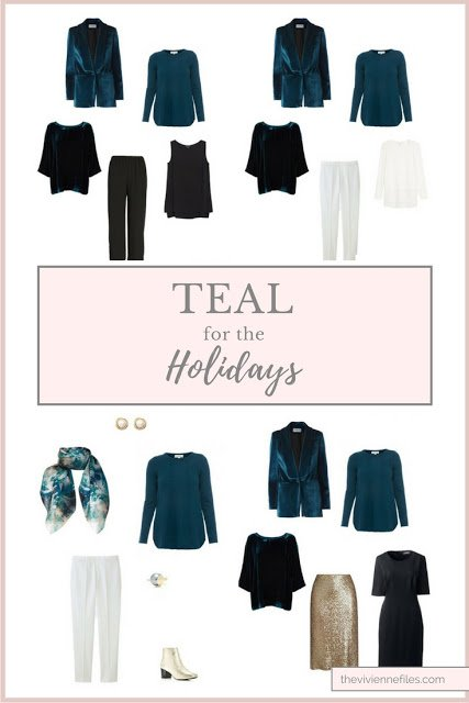 Teal for the Holidays? Three Different Approaches!