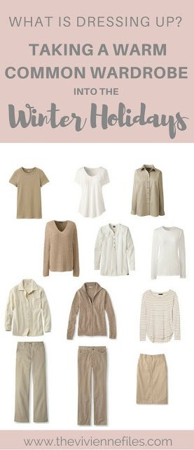 What IS Dressing Up? Taking a Warm Common Wardrobe into the Winter Holidays