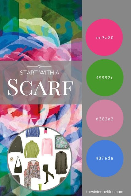 What if I Like Unusual Color Combinations? Start with a Scarf: Calm Scarf by KathKath