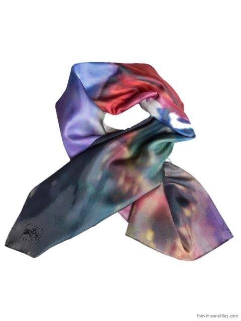 Helo Girl Silk Story Scarf by ImageDiary