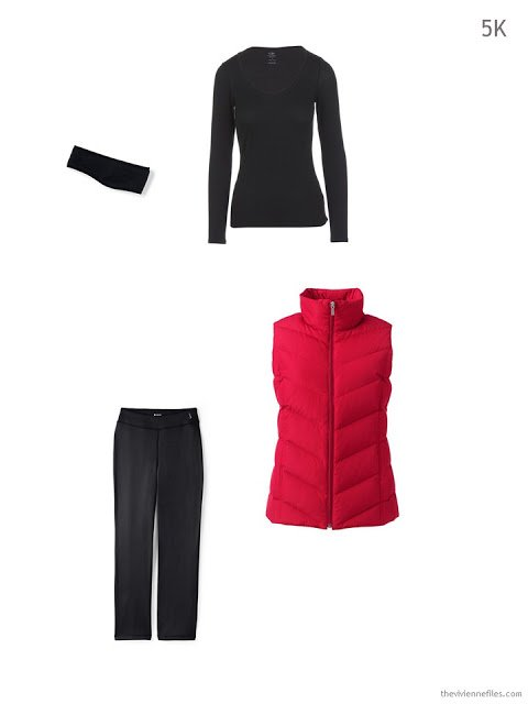 clothing to pack for running in cold weather