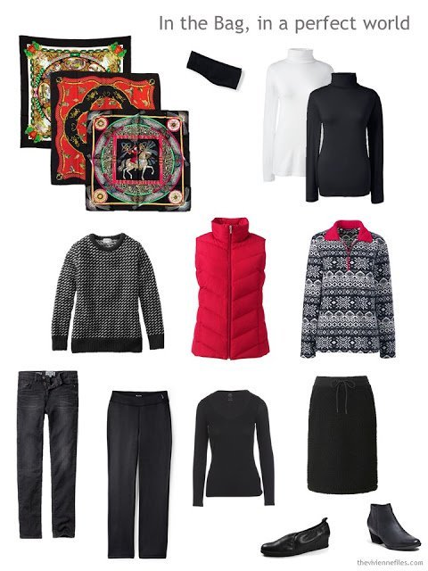 a six-pack for cold weather, plus a few pieces for sport