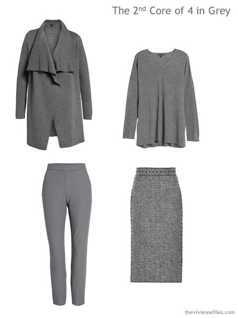 a Wardrobe Core of 4 in grey