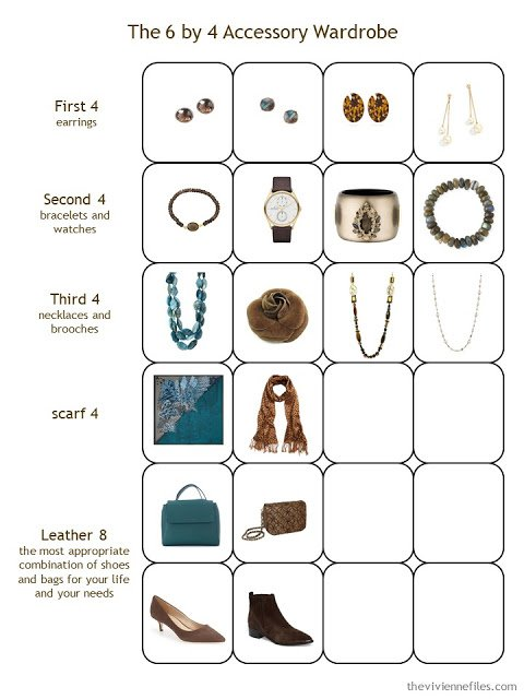 Stage 3 of a 6 by 4 Accessory Wardrobe