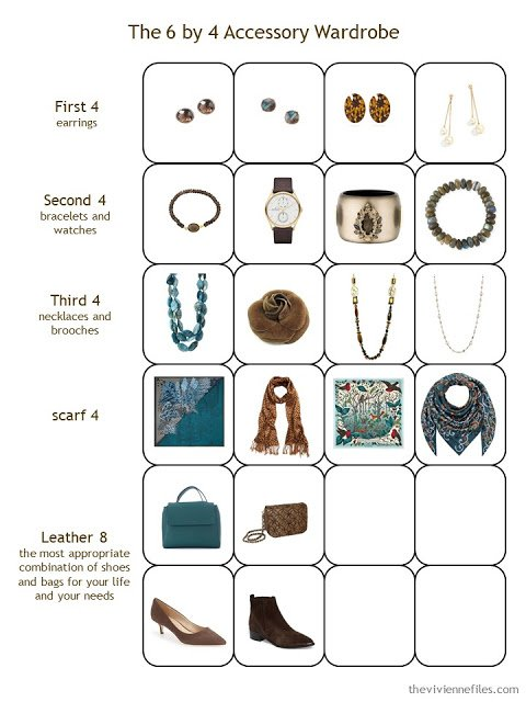 Stage 4 of a 6 by 4 Accessory Wardrobe