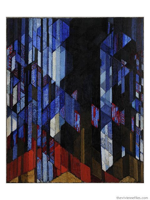 Study in Verticals by Frantisek Kupka