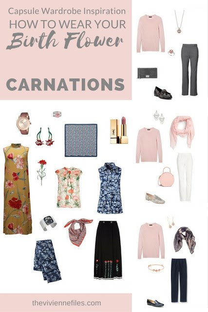 "Carnations! The ""Birth Flower"" for January..."