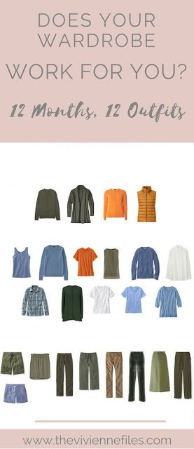 Does Your Wardrobe Work for You? Some Ideas for Figuring Out What You Need...
