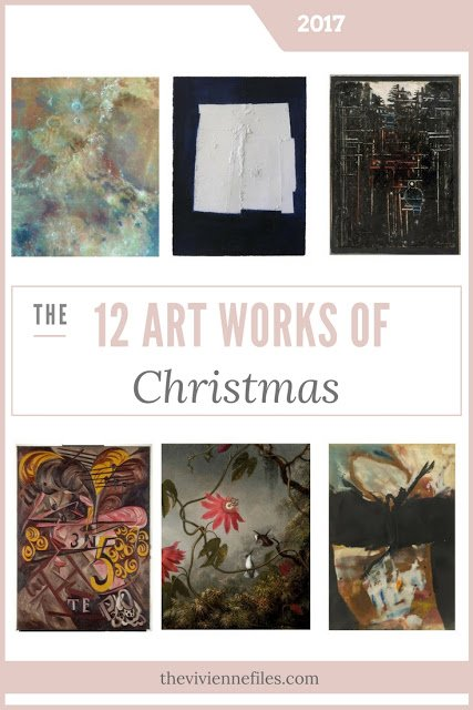 The Twelve Art Works of Christmas!