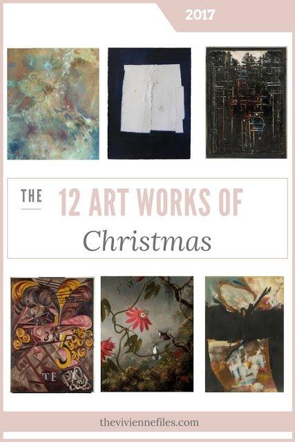 The Twelve Art Works of Christmas!