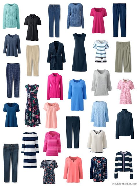 Unfocused and unrefined spring wardrobe from Lands' End