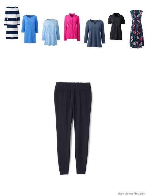 adding leggings to a wardrobe to utilize tunics