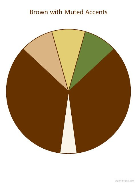 brown color palette with muted accents