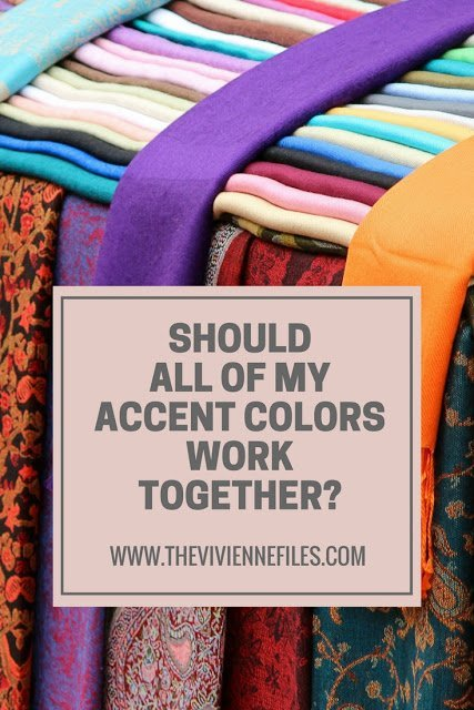 Do All of Your Accent Colors have to Work Together?