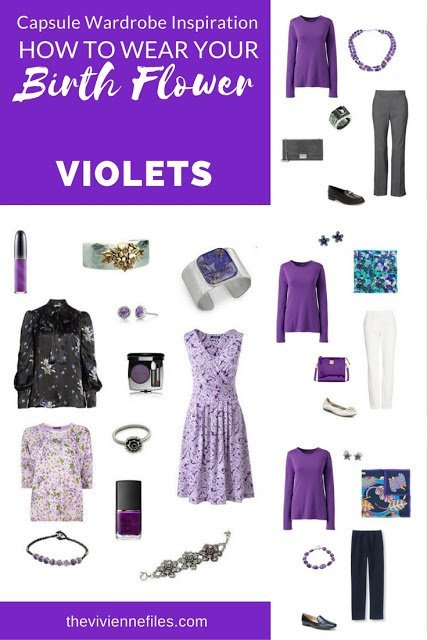 "Violets! The ""Birth Flower"" for February"