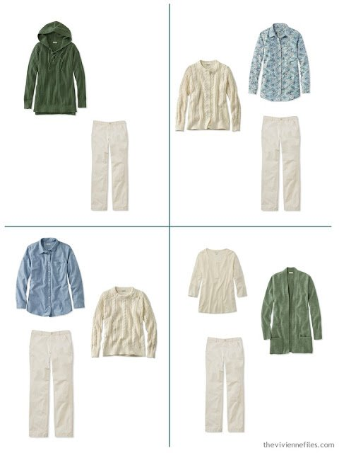 4 ways to wear beige pants for spring