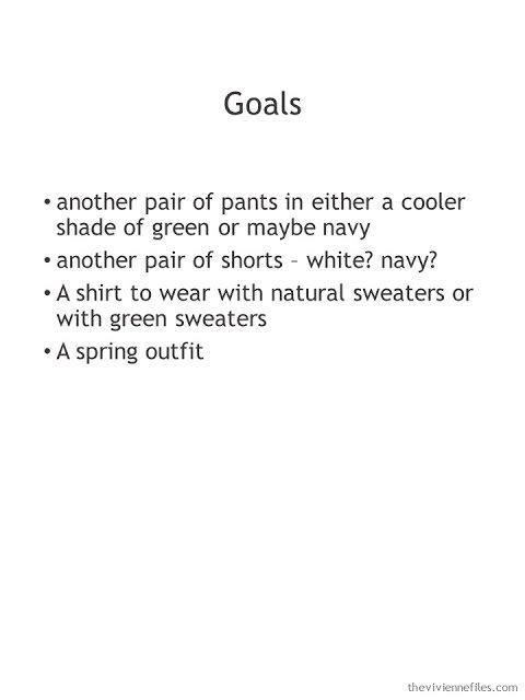 Spring wardrobe goals