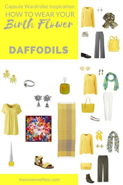 Daffodils - the Birth Flower for March! How perfect...
