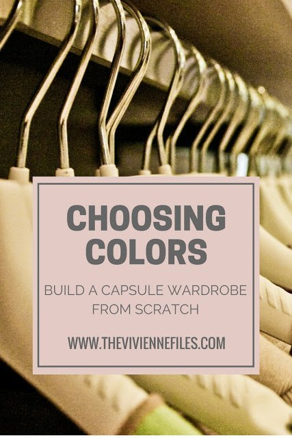 My 5th Most Popular Post - Build a Capsule Wardrobe from Scratch: Choosing Colors