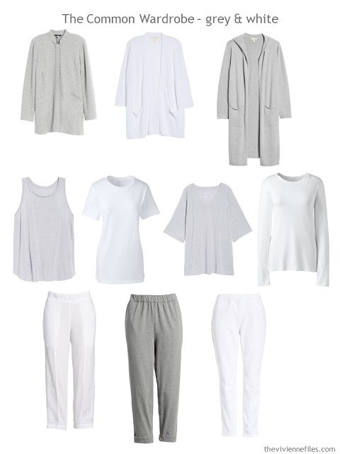A Common Wardrobe in grey and white for spring