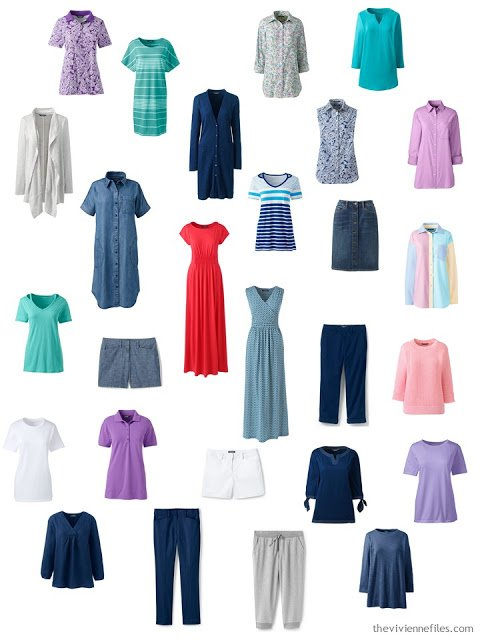 Spring into summer capsule wardrobe