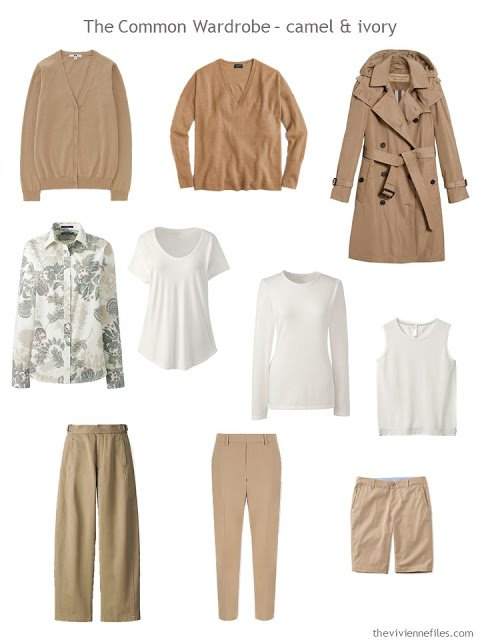 A Common Wardrobe in camel and ivory