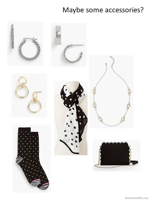 an assortment of spring accessories from Talbots