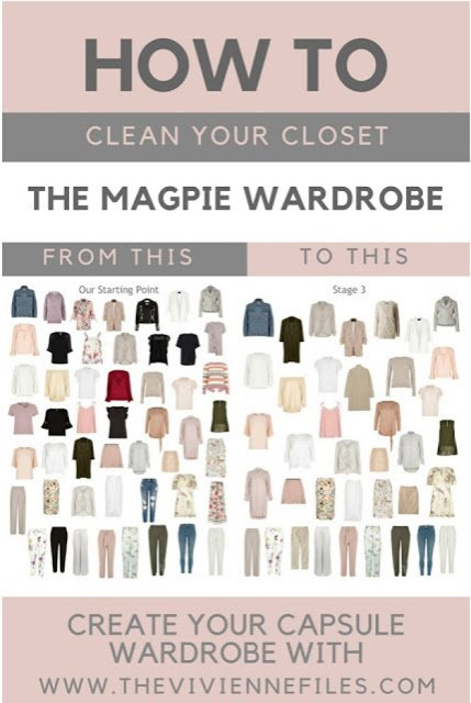 cleaning out the Magpie Wardrobe