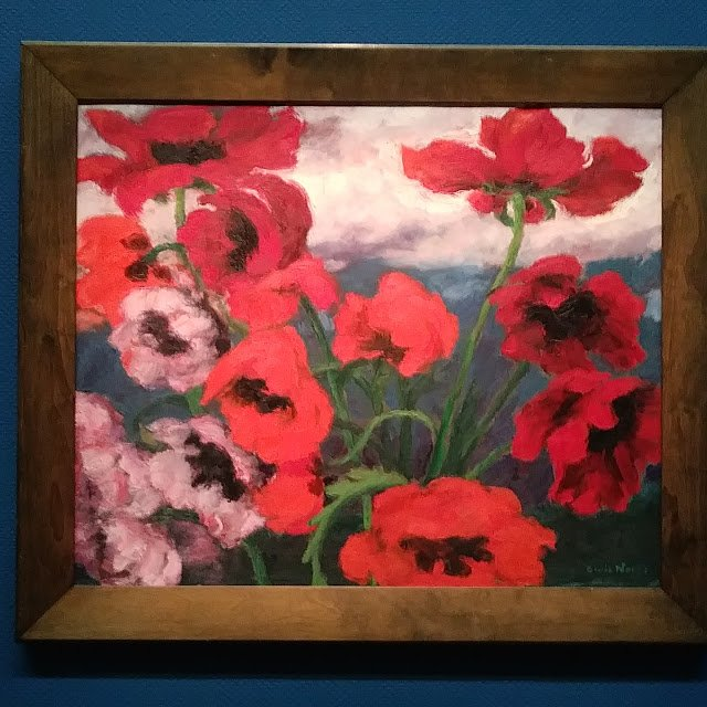 Emile Nolde Large Poppies (Red, Red, Red)