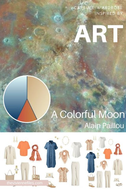 A Colorful Moon by Alain Paillou - Revisiting for Spring 2018