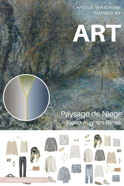 Paysage de Niege by Renoir - Revisiting for Spring 2018