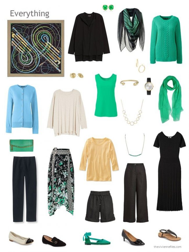 capsule wardrobe based on Hermes Fouets et Badines