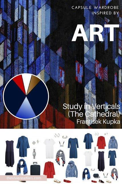 Study in Verticals by Frantisek Kupka - Revisiting for Spring 2018