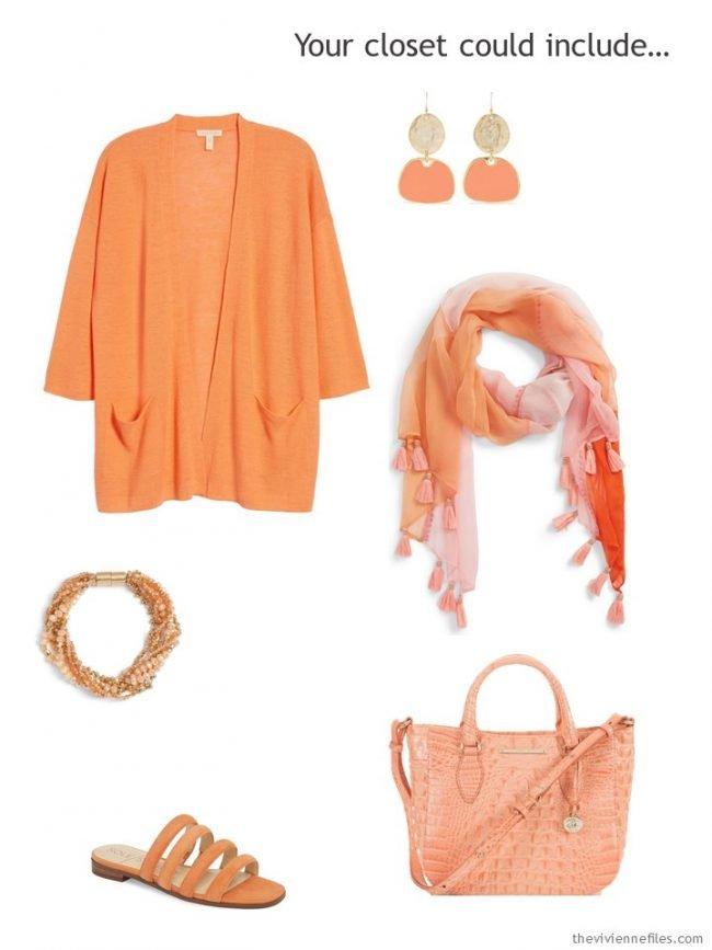 tangerine accessory capsule
