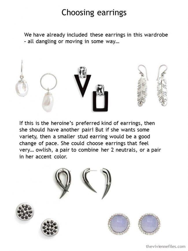 shopping for earrings