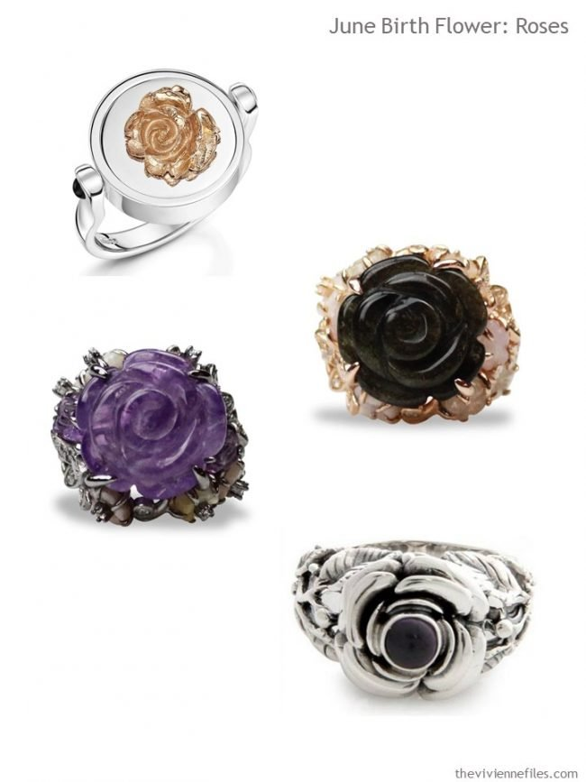 6. four rose rings from Wolf and Badger