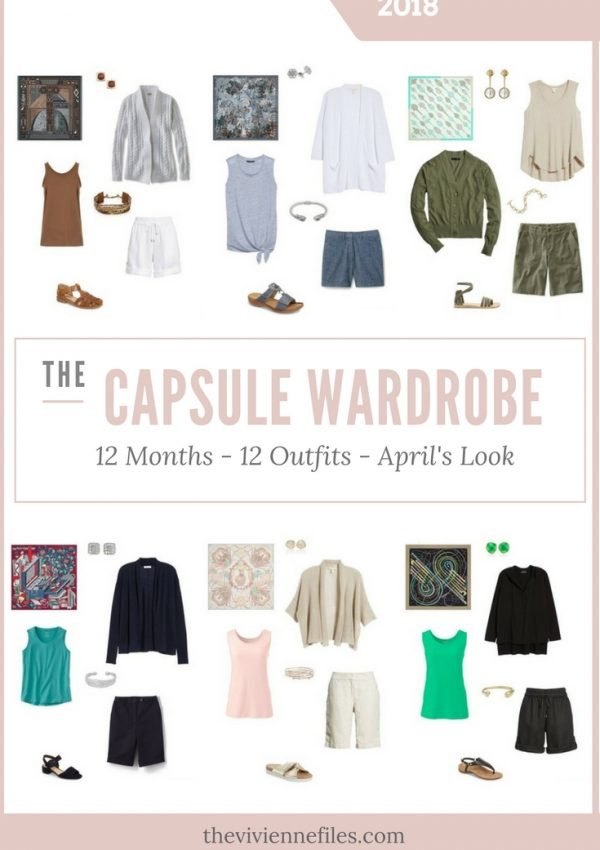 Build a Capsule Wardrobe in 12 Months, 12 Outfits – May 2018