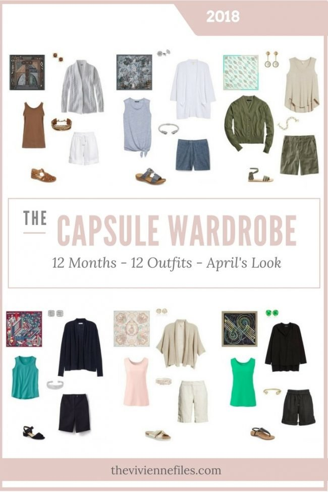 Build a Capsule Wardrobe in 12 Months, 12 Outfits - May 2018